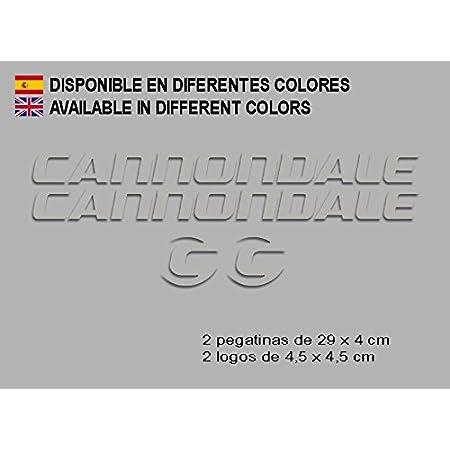 Ecoshirt VP-O0CX-WMYG Stickers Cannondale F117 Vinyl Adesivi Decal Aufkleber КТу MTB Stickers Bike Red