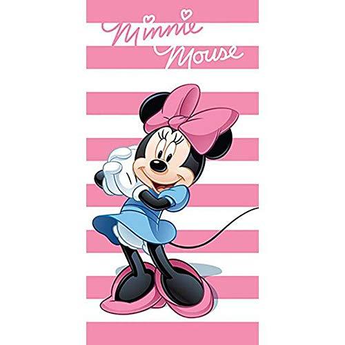 Unbekannt AYM-024MNN-BT Disney Minnie Maus Strandtuch Badetuch 70cm x 140cm