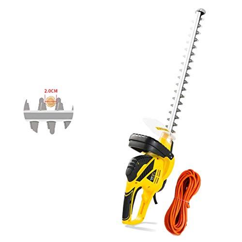 1yess Heckenschere (Messerabdeckung, 450 mm Klingenlänge, Ausschnitt-Durchmesser 18mm) Elektro-Heckenschere Garten Beschneiden Maschine Elektro Size : Type B 550W (50m Power Cord)