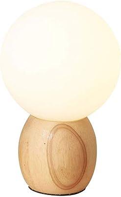 Lámparas de Escritorio Lámpara de escritorio de madera, pantalla ...