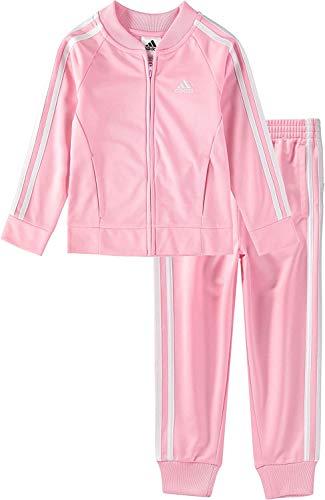 adidas Originals unisex-baby SST Tracksuit Light Pink/White 12M