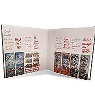 フォトストリップアルバム 2インチx6インチのフォトブース写真用 60ページの写真240枚収納 スライドイン写真 2インチ x 6インチ 標準サイズ スクラップブック写真 ブラックカバー ホワイトページ
