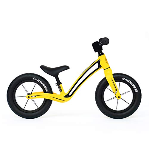 Bungi Bungi Lite 12 Zoll Laufrad ab 1,5 Jahren in Gelb Lauffahrrad   Balance Bike