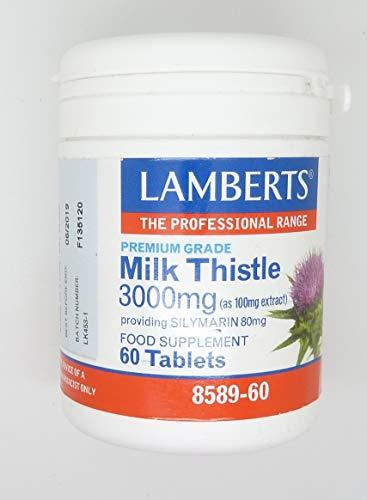 Lamberts Milk Thistle 3000mg 60 tab