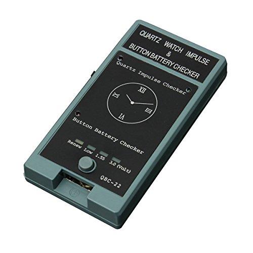 Outil de Test de Montre de Quartz Impression et Batterie de Cellule Test de contrôleur d'horlogerie