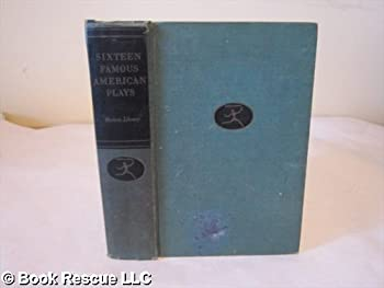 Hardcover Sixteen Famous American Plays Book