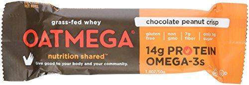 Oatmega Nutritional Chocolate Peanut Crisp Bar
