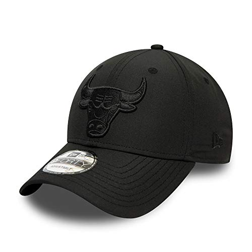 New Era Chicago Bulls 9forty Adjustable Caps NBA Tonal Nylon Black - One-Size