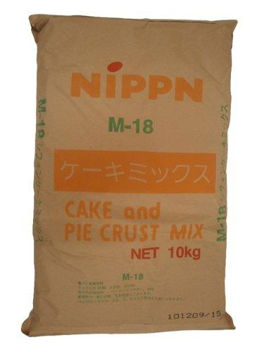 【日本製粉】M618シフォンケーキミックス10kg<ミックス粉>