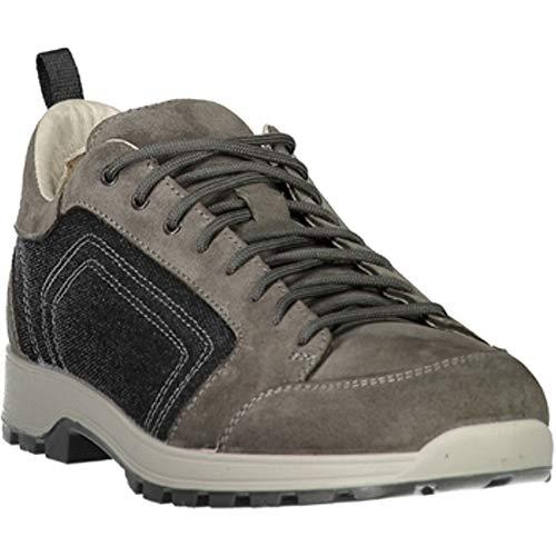 CMP Chaussures de Randonnée Chaussures D'Extérieur Atik Canvas Hiking Chaussures Gris Léger Plaine - U883 Asphalte, 42 EU