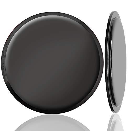 Disco Riutilizzabile per Montaggio su Cruscotto, Yianerm Disco di Montaggio Adesivo PU Kit di Ricambio per Supporto Navigatore Satellitare/GPS/Ventosa (2-Pezzi, 80 mm)