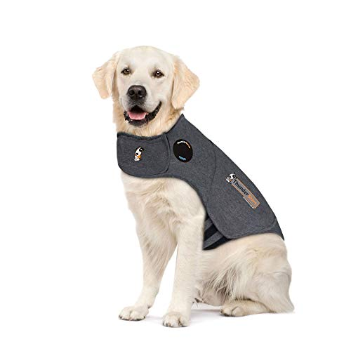 Thundershirt Camiseta Antiansiedad para Perros Gris Material Poliéster...