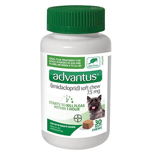 Price comparison product image PSL Advantus 7.5mg Small Dog 4-23 lbs 30ct