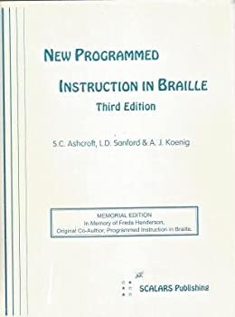 Spiral-bound New programmed instruction in braille Book