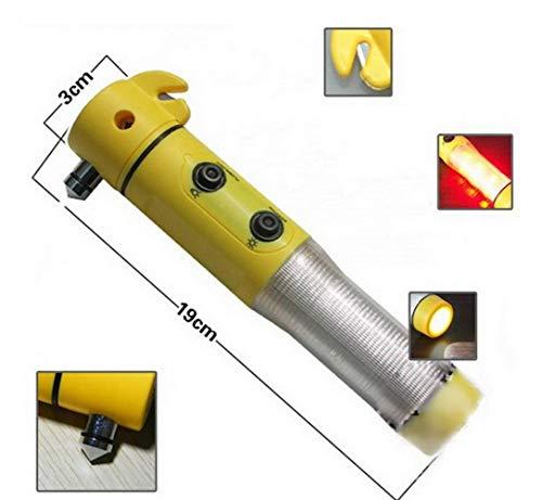 Taschenlampe Personenschutz-Auto Notfall Rettungsdienst Scheibenzertrümmerer