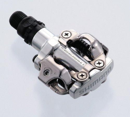 Pedal Spd Pd-M 520, Plata Shimano Sin Reflector