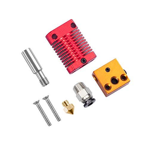 Redrex extrusor Hotend Kit de Repuesto para Impresoras 3D de las Series CR10 y Ender 3