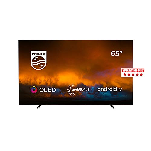 Philips 65OLED804/12 Televisor Smart TV OLED 4K UHD, 65 pulgadas (Android TV,...