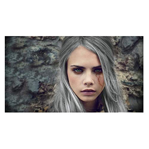 Ignite Wander Cara Delevingne Beautiful Woman Model Posters Canvas Paintings Canvas Wall Art Prints On Canvas for Home Wall Decor -20x30 Inch No Frame 1PCS