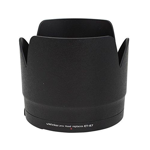 Pixco ET-60 Bayonet Mount Lens Hood Voor Canon EF 75-300mm f/4-5.6 III USM Lens, ET-87