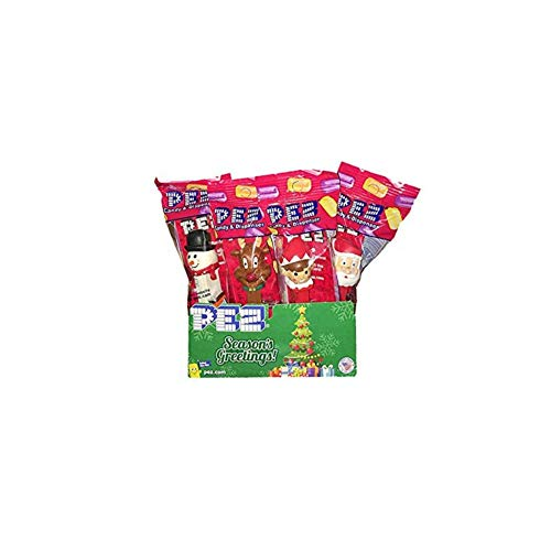 Pez Candy Dispenser Winter Christmas Holiday 12 Pack