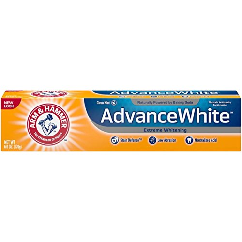 Arm and Hammer Advance White Extreme Whitening with Stain Defense 6 Oz by Advance White Extreme Whitening with Stain Defense