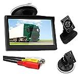NEYOANN 5 Zoll 800X480 TFT LCD HD-Bildschirmmonitor mit Doppelter Halterung für...