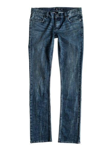 DC Damen Straight Leg Jeanshose Gr. Bundweite: 66cm, Beinlänge: 71cm (26 W / 28 L), Blau - Blue Haze