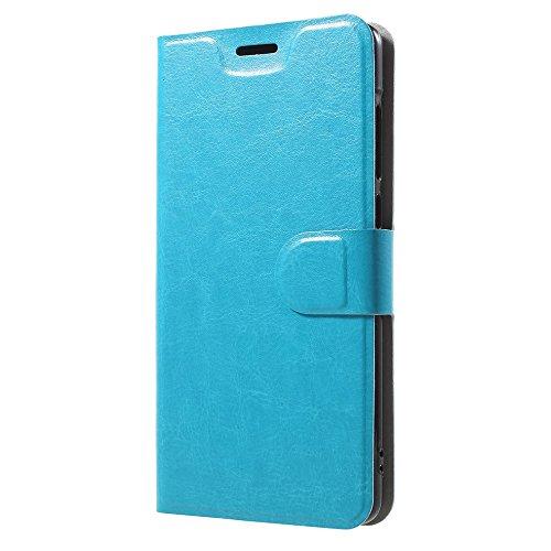 jbTec Handy Hülle Hülle - Schutz Tasche Smartphone Flip Cover Phone Bag Klapp Klappbar Etui Handyhülle Handytasche Book, Farbe:Türkis, passend für:Xiaomi Mi Mix 2S