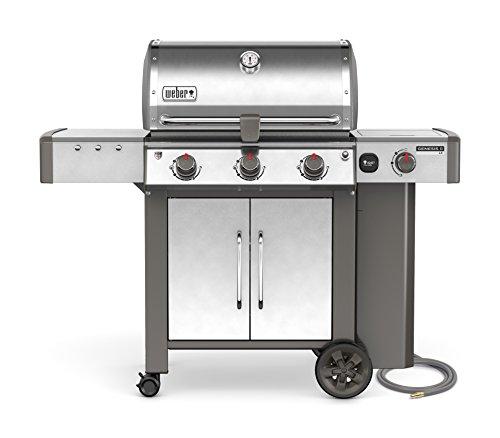 Weber 66004001, Three-Burner, Stainless Steel