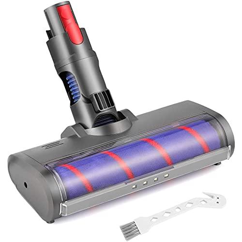 NEYOANN Cabezal limpiador de rodillos suave de liberación rápida para aspiradora inalámbrica V7 V8 V10/SV12 V11, 966489-04