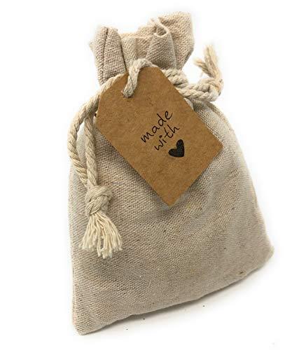 jaka-online Zirbenkissen, Säckchen Leinen gefüllt mit Spänen aus Zirbenholz, Duft im Schrank