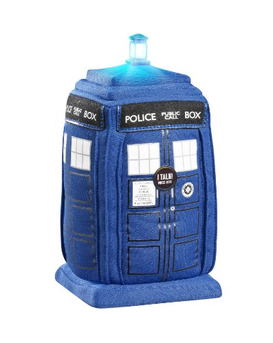 Funko UGTDW00559J Doctor Who 9-inchTalking Plush with Light and Sound (Tardis)