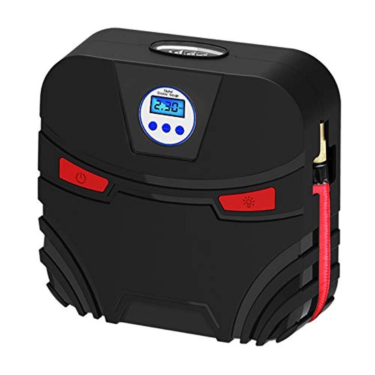 キャプションエンゲージメントベーコンSemoic 車のインフレータブルポンプ12 v電子ディスプレイタイヤインフレータ自動車空気圧縮機ポンプLed車のボートベッドアクセサリー