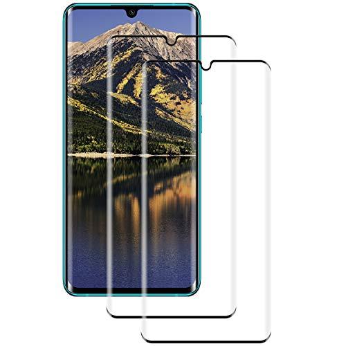 [2 Stück] Panzerglas für Xiaomi Mi Note 10/MI Note 10 Pro Schutzfolie, Volle Abdeckung, 9H gehärtetes Glas, Anti-Kratzer, Anti-Öl, Xiaomi Mi Note 10/Xiaomi Note 10 Pro Panzerglasfolie