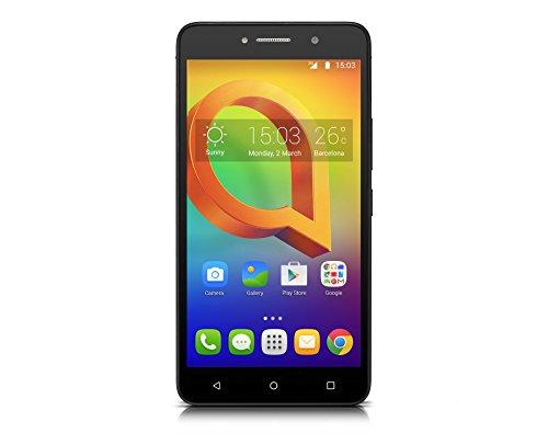 Alcatel 8050D-2EALWEL-1 15,24 cm (6 Zoll) Pixi 4, Smartphone, 8GB Schwarz