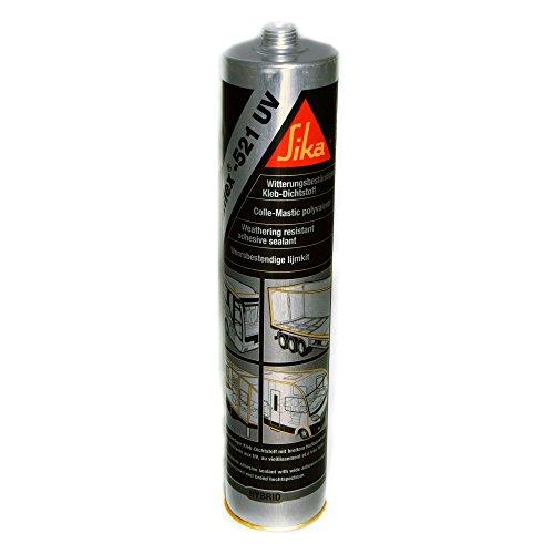 Sika Sikaflex 521UV Witterungsbeständiger haftstarker Dichtstoff schwarz 300 ml