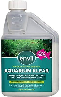 Envii Aquarium Klear - Traitement Aquarium Eau Verte - Traite 4 000 litres