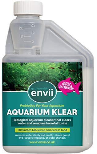 Envii Aquarium Klear - Tratamiento para Agua Verde y arenilla del Acua