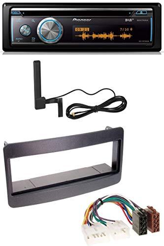 caraudio24 Pioneer DEH-X8700DAB Bluetooth DAB MP3 USB CD Autoradio für Toyota Celica, MR2 - schwarz