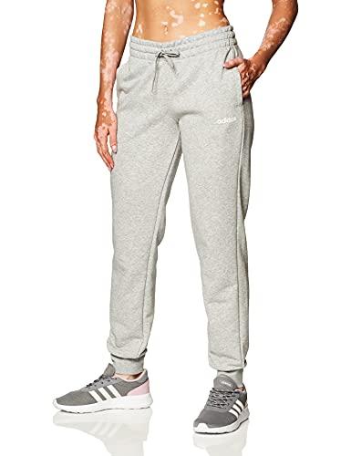 adidas W E PLN Pant Pantalones, Mujer, Medium Grey Heather, XL S