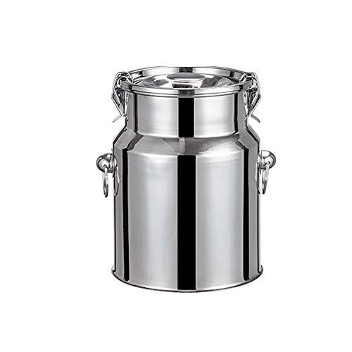 Edelstahl versiegelter Behälter, Milchtransporteimer mit großem Fassungsvermögen und versiegeltem Deckel, Gute Dichtleistung, Zur Gärung Weinfass/Reisfass/Teefass ZDDAB