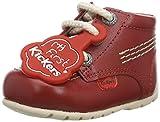 Kickers Kick Hi, Botas Unisex bebé, Rojo (Red Red), 16 EU