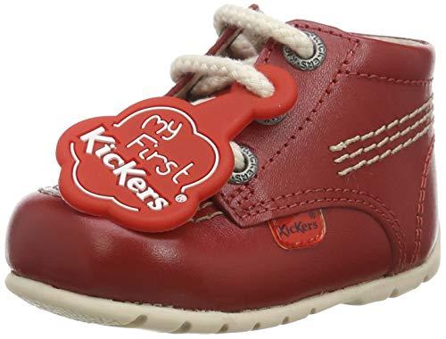 Kickers Kick Hi, Botas Unisex niños, Rojo (Red Red), 16 EU