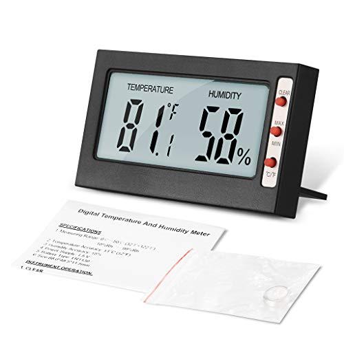 BIlinli LCD Digital Hygrothermograph Haushalt Hochpräzise Elektronische Thermometer Hygrometer Temperatur Feuchtemessung Meter Tester