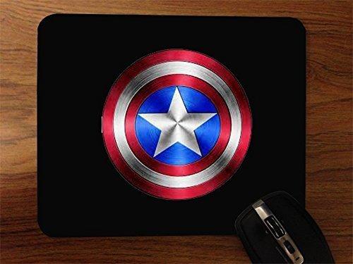 Superior Printing Captain America Shield Desktop Mouse Pad
