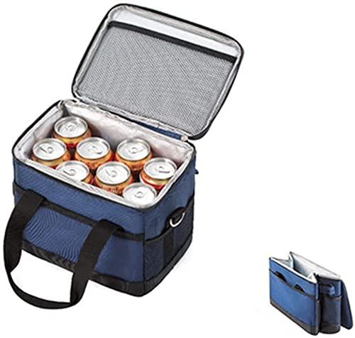 Ghlevo Bolso de Picnic portátil, Gran Capacidad Multifuncional, Bolsa de Almacenamiento aislada para el hogar al Aire Libre Que acampa (Size : 10L)