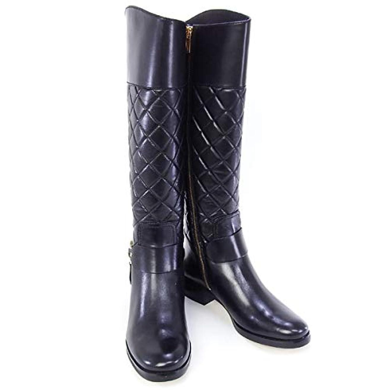 腐食するピーク保険[MICHAEL KORS] アウトレット品 [マイケル?コース] 靴 FULTON HARNESS BOOT ロングブーツ ブラック 6Mサイズ (40F5FHFB6L BLACK) [並行輸入品]