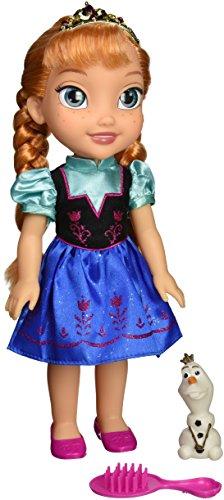 La Reine des Neiges - 31069-TT - Poupon Deluxe Anna avec Olaf - 38cm