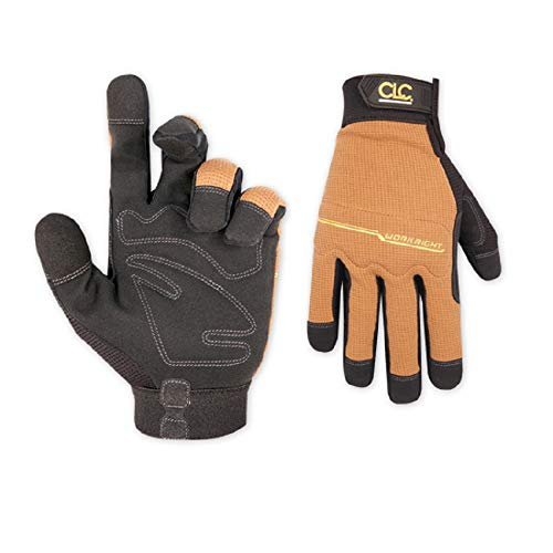 CLC Custom Leathercraft 124L Workright Flex Grip Work Gloves
